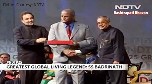Greatest global Indian living Legend